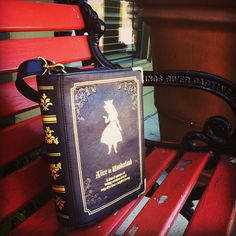 Spotted our Alice in Wonderland book purse!  $47 #asianicandy #aliceinwonderland   http://www.asianicandy.com/collections/purses-created-desc-atom/products/3g349mop