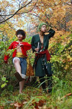 Luffy Zoro Epic Cosplay, Amazing Cosplay, Cosplay Outfits, Cosplay Costumes, Zoro Nami, Roronoa Zoro, One Piece Anime, Anime One, Yuri