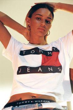 10805a27 53 Best TOMMY JEANS S17 images | Clothing, Hilfiger denim, Tommy ...