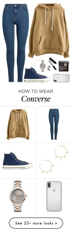"""Joshua X Pretty U MV"" by jleeoutfitters on Polyvore featuring Justine Clenquet, Converse, Speck, Bobbi Brown Cosmetics and Vivienne Westwood"
