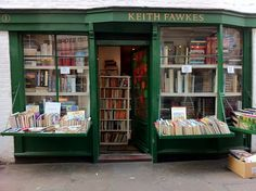 Keith Fawkes bookshop in Hampstead, London