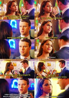 Matt Casey and Gabby Dawson. Why you being so clueless Gabby? Anyone with eyes can see that's not what Matt wanted to hear... #Dawsey