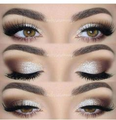 Eye makeup #Bridalhairaccessories