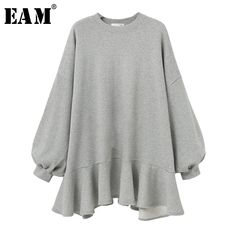 PLAMTEE Plus Size Hoodies Sweatshirt Women Ruffles Batwing Sleeve Hoody Streetwear Oversize Hoodie Kpop Pullover Warm Tracksuit Plus Size Mini Dresses, Big Size Dress, Plus Size Hoodies, Plus Size Tops, Hoodie Sweatshirts, Mode Streetwear, Streetwear Fashion, Batwing Sleeve, Long Sleeve