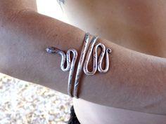 Hill Tribe Snake Bracelet For Bicep or by 7SISTERStradingco