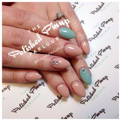 Simple classy spring nails