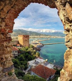 Alanya - red tower