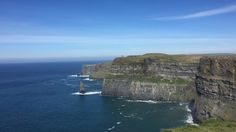 Day trip to Cliffs of Moher. One of the most popular sightseeing in Ireland
