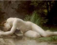Biblis - William-Adolphe Bouguereau, 1884    Definitely one of my top five favorite paintings of all time.