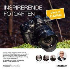 På fredag kan deltagerne til vores udsolgte event Inspirerende fotoaften opleve Michael Guthmann fortælle om teknikken bag Olympus.  Hvad er det som gør Olympus unikt og hvorfor kan det lade sig gøre? Fik du ikke sikret dig en af de eftertragtede billetter? Så tilmeld dig ventelisten via link i bio. Måske du får chancen for at komme med!  #olympusdanmark #olympusontour #omdrevolution via Olympus on Instagram - #photographer #photography #photo #instapic #instagram #photofreak #photolover…