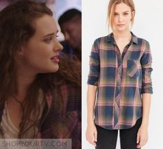 Hannah Baker Fashion, Clothes, Style and Wardrobe worn on TV Shows | My Site