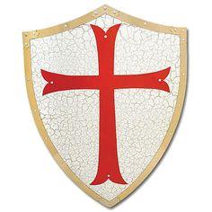 Medieval Knight Crusader Shield Armor