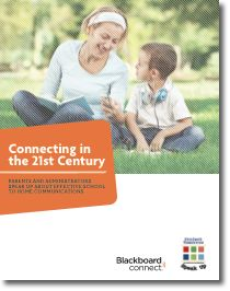 Connecting in the 21st Century: Parents and Administrators Speak Up about Effective School to Home Communications- A new report from Project Tomorrow and Blackboard Connect.     In this special report we examine the Speak Up 2010 survey data collected from almost 380,000 K-12 students, parents and educators to highlight the expectations of parents for improved school to home communications and how schools and districts are stepping up to address those new sets of expectations.