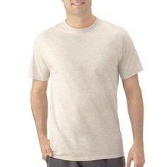 Fruit of the Loom Big Men's Short Sleeve Crew T-Shirt, Size: 3XL, Beige