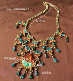 Checkout this amazing product 2013 latest versatile Fashionable Colorful Beautiful Necklace - Great Quality at Shopintoit
