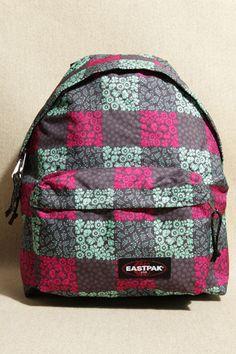 Eastpak - Sac à dos carré imprimé floral