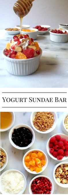 Yogurt Sundae Bar