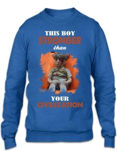 Wounded Syrian Boy Omran Daqneesh Crewneck Sweatshirt