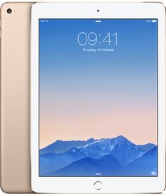 iPad Air 2 Wi-Fi + Cellular 128GB - Gold - Apple Store (UK)