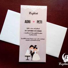 Bride cake nyomtatott esküvői meghívó #esküvői #meghívó #nyomtatott #esküvőimeghívó #egyedi #wedding #weddinginvitation #printed #unique #bride