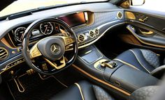 Brabus Rocket 900 Desert Gold Edition: An 888-hp, 885-lb-ft S-class Sedan - Photo Gallery of Car News from Car and Driver - Car Images - Car and Driver