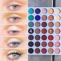 Really like hooded eye makeup Pic 7547 - halloween eye makeup Eye Makeup Brushes, Makeup Brush Set, Eyeshadow Makeup, Airbrush Makeup, Eyeliner Make-up, Makeup Blog, Makeup Inspo, Beauty Makeup, Jem And The Holograms