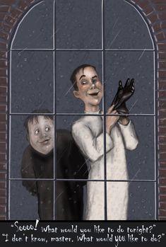 #Frankenstein #horrormovie #madscientist #Igor #art #cartoon #rainyday #funny #classic #Universalmonsters