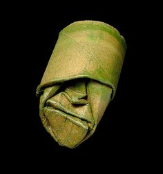 French artist Junior Fritz Jacquet squishes and folds toilet paper rolls into funny faces to create this quirky series of masks.  Photos by Matthieu Gauchet.  More art on the grid via Colossal