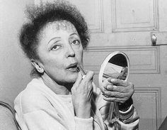 Edith Piaf in her later years. Divas, France National, Catherine Deneuve, Jazz Music, Iconic Women, Elvis Presley, Looking Back, Famous People, Cool Photos