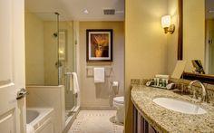 A bathroom in a Residences Condo