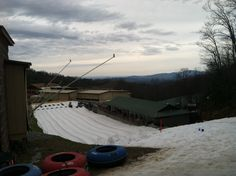 Snow tubing @ Ober Gatlinburg