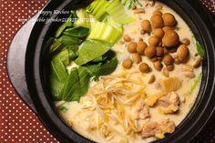 豆乳鶏味噌鍋