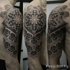 By Black ink power - the next step of my arm tattoo