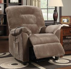 Great And Comfortable Living Room Or Office Power Lift Recliner With Textured Padded Velvet Upholstery, Knock-Down Legs, Adds Elegance Style And Classy Look To Your Home, Brown Sugar Finish Acme Furniture, Upholstered Furniture, Furniture Sets, Antique Furniture, Outdoor Furniture, Wall Hugger Recliners, Lift Recliners, White Bathroom Furniture, Living Room Furniture