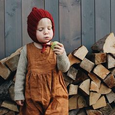 Rusty Garden jumpsuit. These autumn colors are so sweet