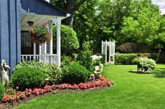 Astounding Front Yard Landscaping Raised Ranch  and front yard landscaping ideas new england