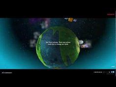 Cute interactive world w/ renewable energy edu