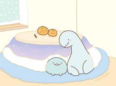Cute Kawaii Animals, Kawaii Faces, Kawaii Drawings, Cute Drawings, Hyanna Natsu, Dinosaur Wallpaper, Kawaii Doodles, Kawaii Wallpaper, Cute Cartoon Wallpapers