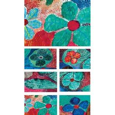 Aboriginal Design Dreaming Stories placemats and coasters, set of 6