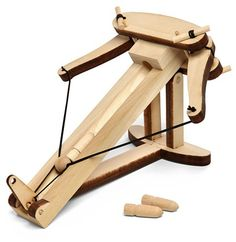diy mini desktop wooden ballista kit
