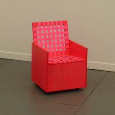 Pink Chair Sculpture from Frieze 2014