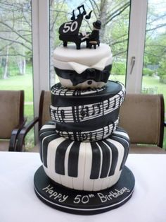 Edible Art of the Day Winner for Saturday July 7, 2012 is Julie Morgan and her Bespoke topsy Turvy 50th Birthday cake