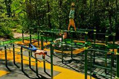 Image result for street workout Garden Gym Ideas, Playground Bar, Street Workout, Wrestling, Park, Fitness, Sports, Google, Image