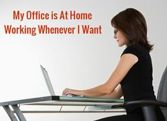 When you work at home the idea of logging on and off  working whenever you want  is attractive! For many of us its hard to do the work around a set schedule depending on what else is going on in our lives…