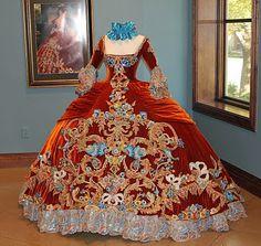 18th Century Style - Linda Leyendecker Gutierrez ballgown