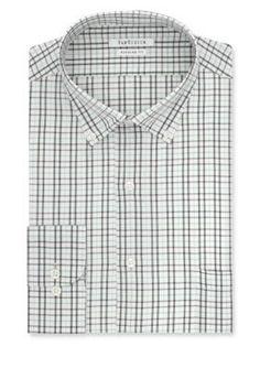 Van Heusen  Big  Tall Plaid Button Down Shirt
