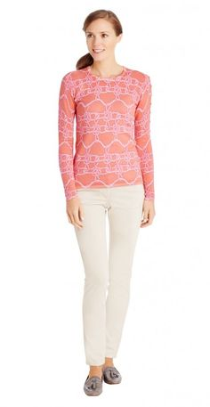 Melanie Sweater in Rope Knot by J.McLaughlin