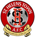 St. Helens Town A.F.C. British Football, English Football League, St Helens Town, Bristol Rovers, Football Team Logos, Sports Clubs, Badge, How To Memorize Things, Soccer