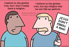 Religion - turning people into arseholes... - Imgur