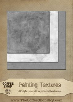 The CoffeeShop Blog: CoffeeShop Painting Textures!